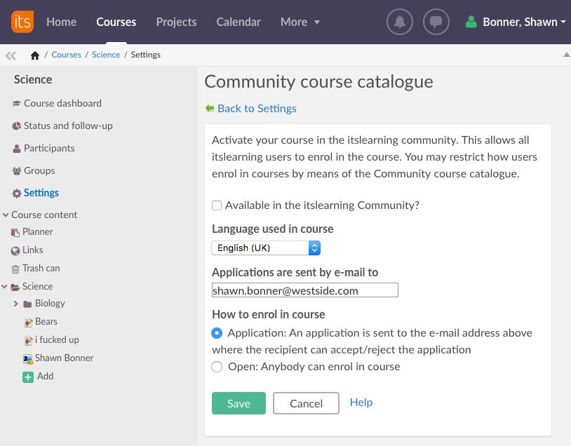 itslearning community